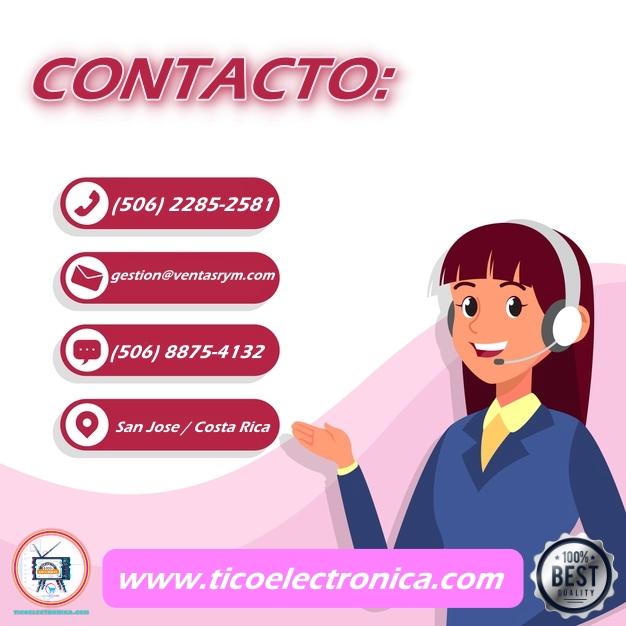 Contacte servicio técnico en Costa Rica / televisores / accesorios.