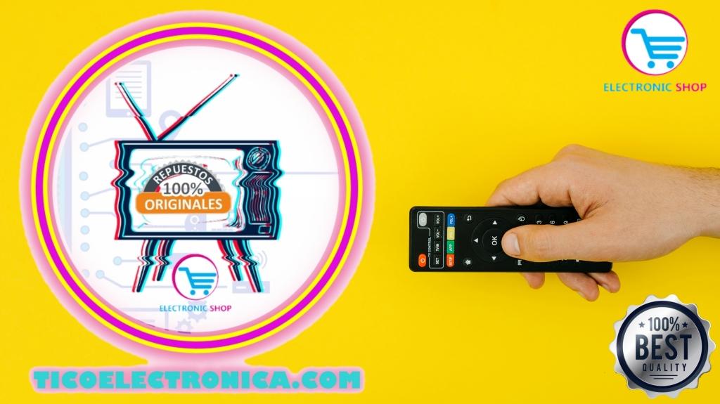 Controles remotos originales para su pantalla de televisión.