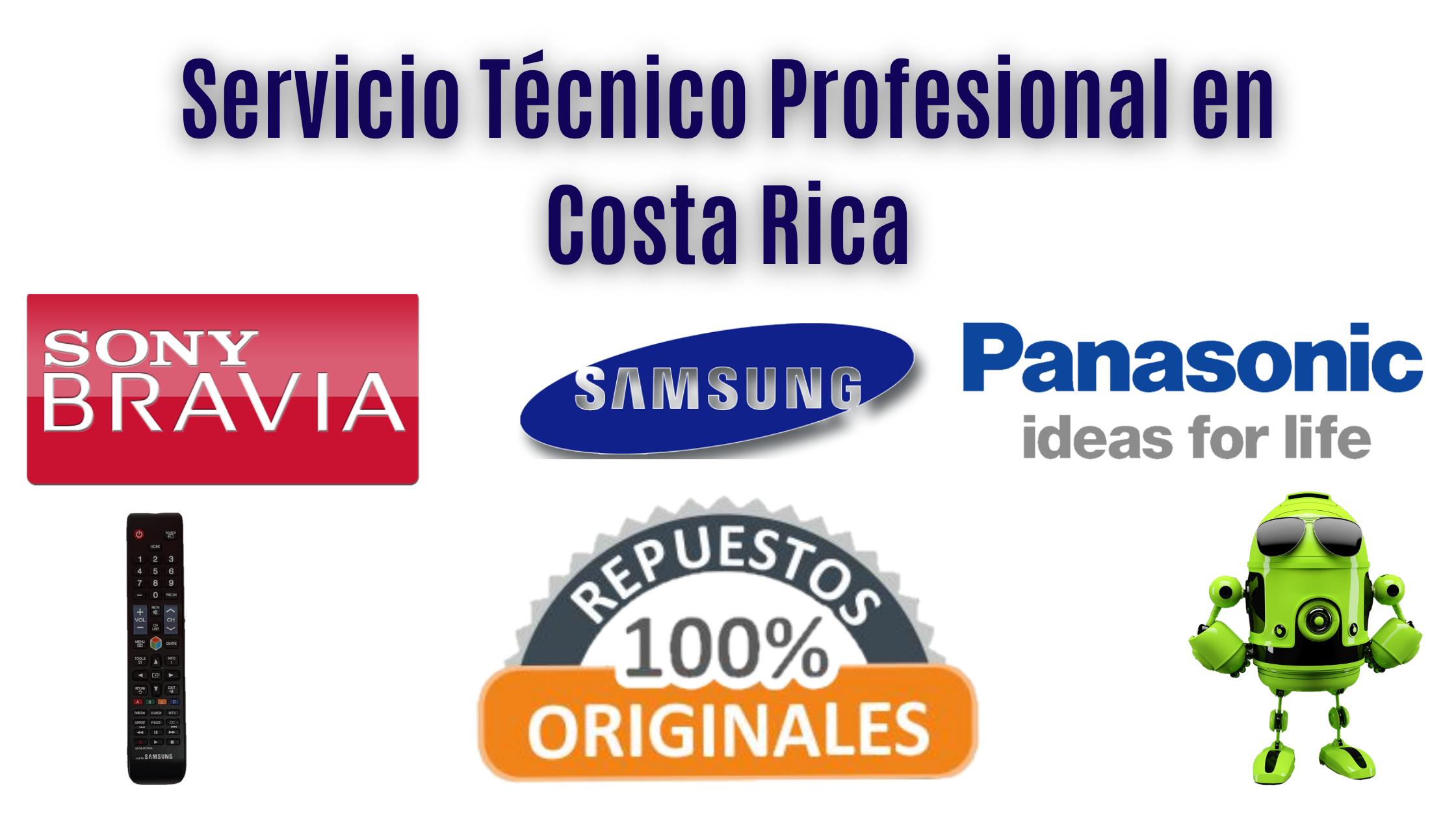 Taller de televisores y venta de tarjetas electrónicas en Costa Rica