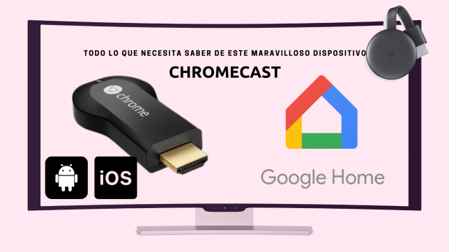 uso del chromecast
